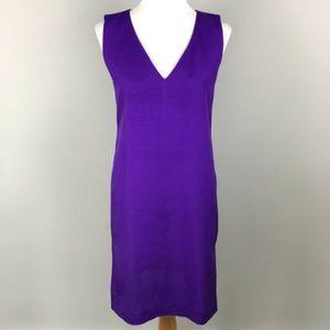Diane von Furstenberg Silk Sheath Dress 8 Shelly